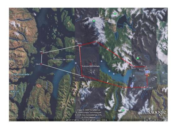 """Así, todo el Fiordo Aysén (Mapa 4) la totalidad del mar que circunda al Parque Nacional Isla Magdalena, Quellón completo, entre otros, han sido calificados, por el Servicio que ocupa la """"pole position"""" en inoperancia estatal, como Barrios Salmoneros..."""