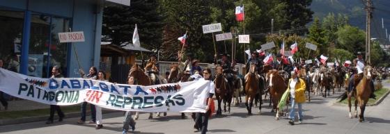 Cabalgata Patagonia SIN Represas - Patagonia chilena, noviembre de 2007